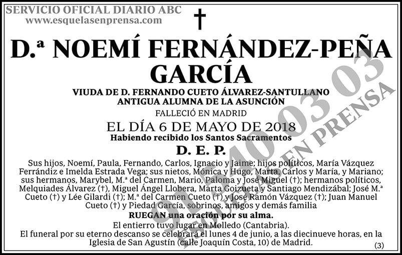 Noemí Fernández-Peña García